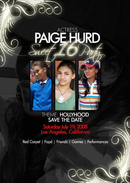 Actress Paige Hurd on the verge of her Sweet 16: there's more than meets the eye