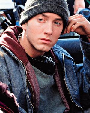 Eminem's in the studio, too!