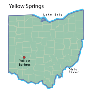 "Yellow Springs, Ohio named one of ""Americas 10 Coolest Small Towns"""