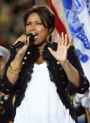 Welcome back Jennifer Hudson!  Triumph over tragedy prevails at Super Bowl XLIII