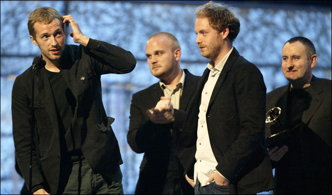 Coldplay announces US tour- May, June 2009