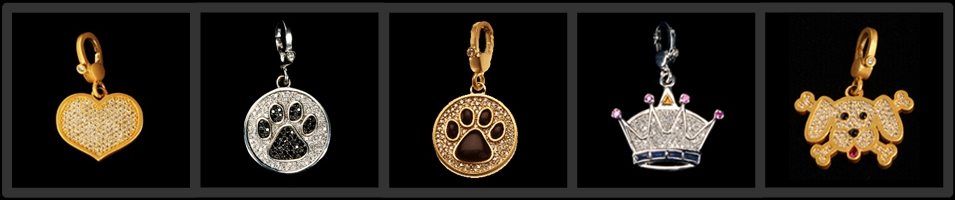 Bling Alert- Diamond Dog New York Couture Jewelry.  People jewelry inspired by our furry friends.