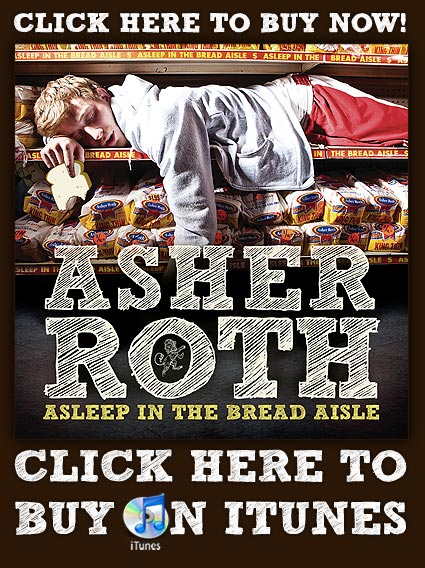 "April 20, 2009- Asher Roth album ""Asleep in the Bread Aisle"" released.  Check out Digiwaxx live meeting footage."