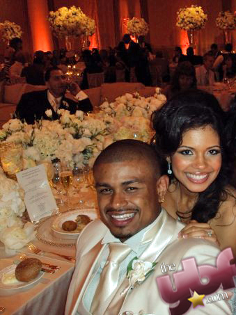 YBF reports that My Wife and Kids star Jennifer Freeman and NBA baller Earl Watson have tied the knot, still preggers