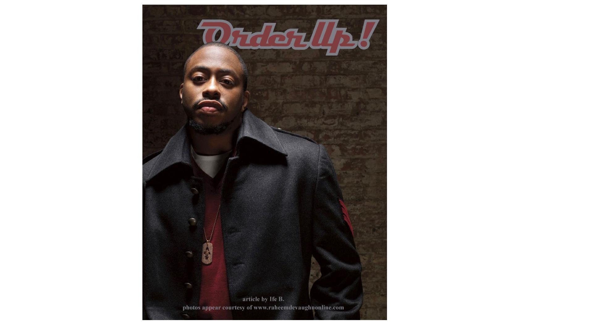 July 2009 JENESIS Magazine- Interview with Raheem DeVaughn