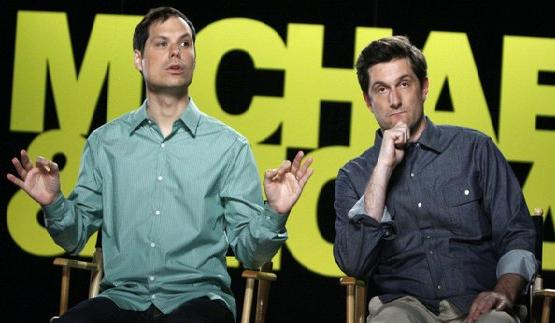 "One of my new fav tv shows ""Michael and Michael Have Issues"" on Comedy Central"