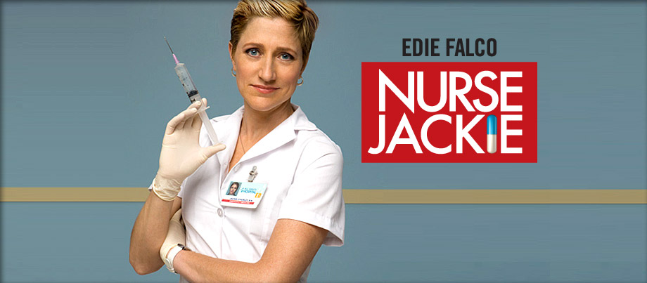I'm feigning my weekly Nurse Jackie, are you??