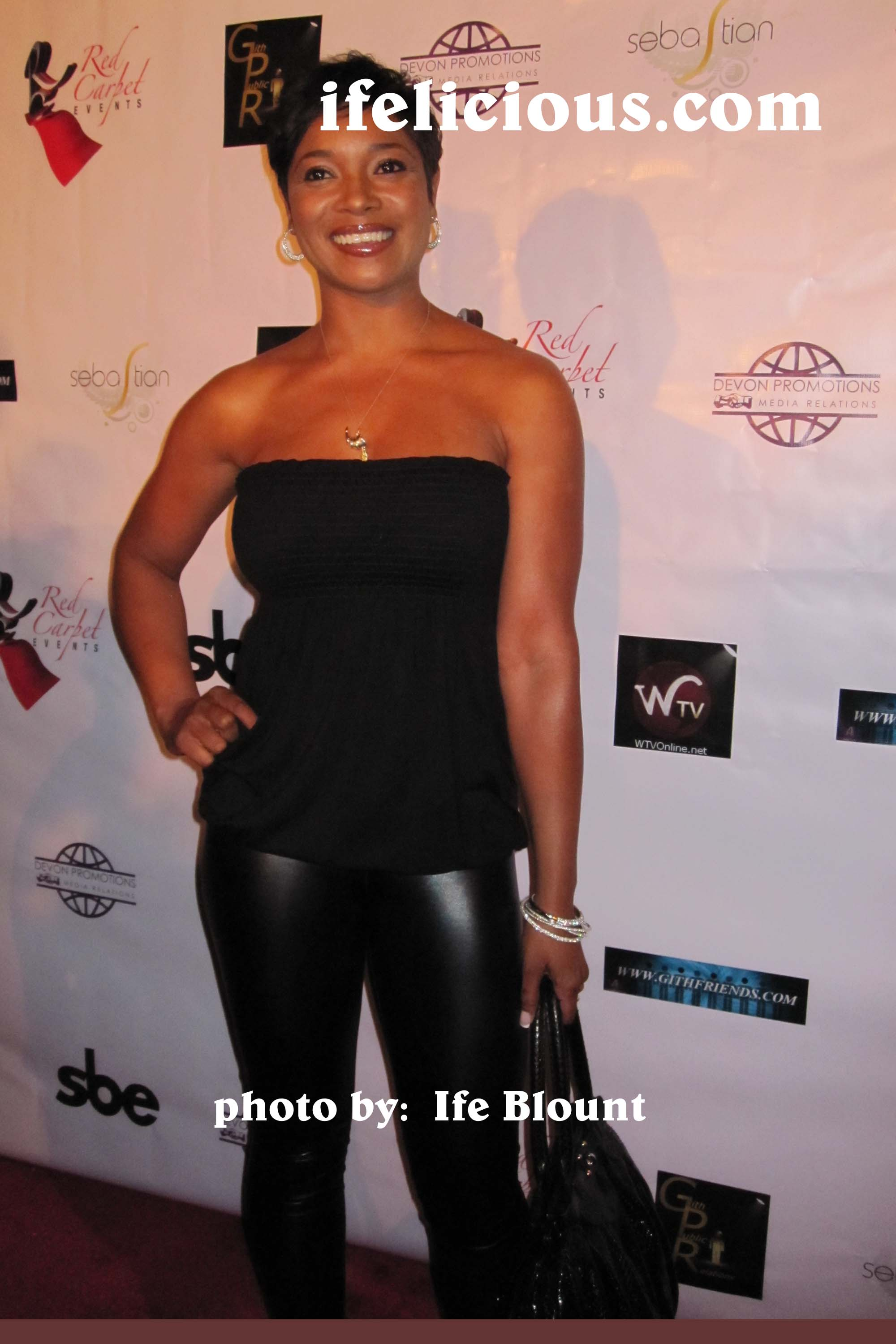 8/19/2009 EVENT RECAP- Tamala Jones Party at Area Nightclub, West Hollywood