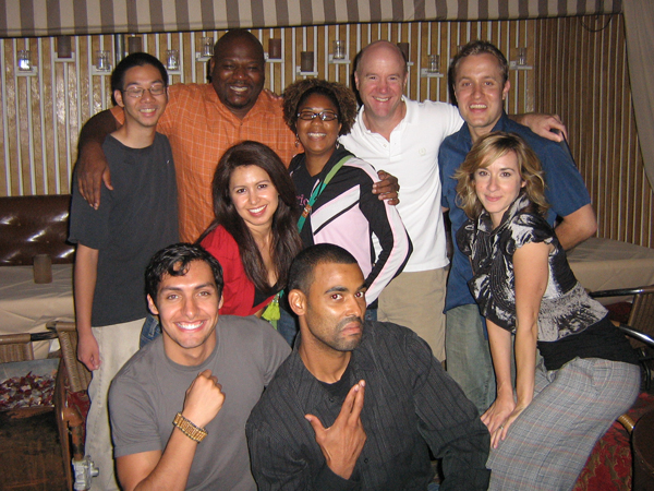 "8/19/2009 EVENT RECAP- Film screening of Angelo Bell's ""The Broken Hearts Club"" at The Bungalow Club in LA"