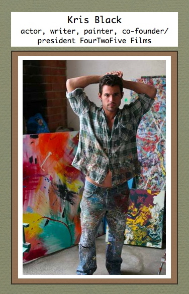 Interview Teaser: Meet writer, painter, actor Kris Black