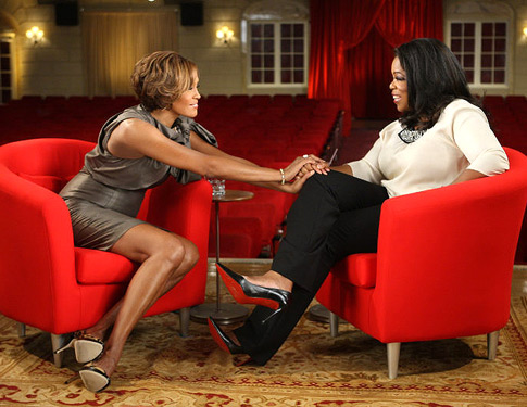 In case you missed it.  Whitney Houston interview with Oprah (video).
