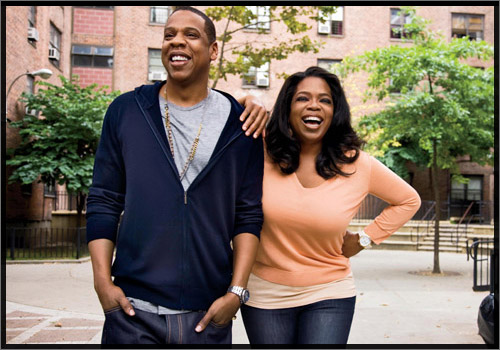 Jay Z on Oprah