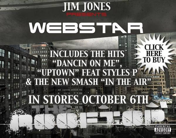 "DJ Webstar & Jim Jones take NYC with ""She Can Get It"""