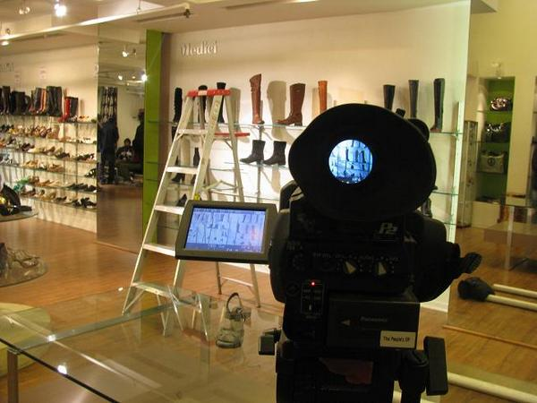 Photo #6 (Image) Video Set In Medici Shoe Store- Image by Kisha Smith