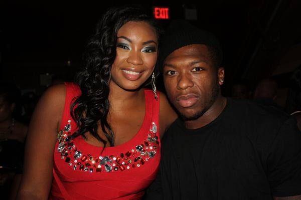Model/Actress Liris Crosse, NBA guard Nate Robinson for the New York Knicks (Image by David Shellman)