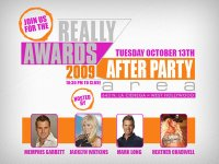 The 2009 FOX Reality Channel Really Awards Official After Party at Area Nightclub on Oct 13, 2009