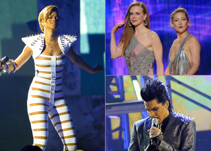 Winners announced for 2009 American Music Awards. Performers included Lady Gaga, Whitney Houston, Jennifer Lopez and Adam Lambert