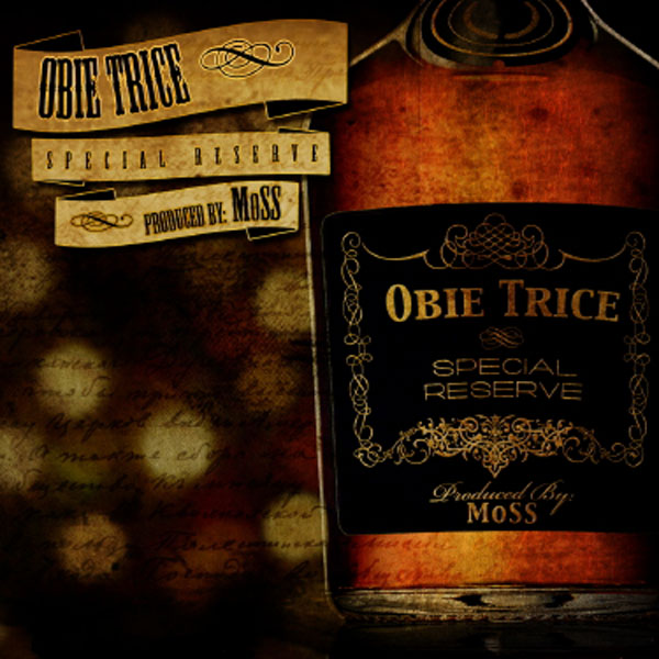 "Obie Trice and producer MoSS team up for ""Special Reserve"" LP"