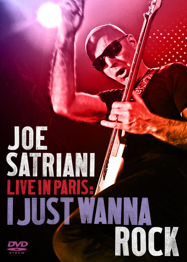 "Joe Satriani: ""I Just Wanna Rock"" DVD trailer and sweepstakes!"