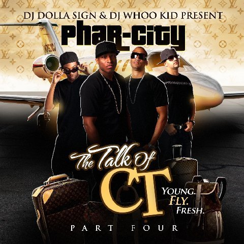 "Connecticut's Phar-City to release ""The Talk of CT 4"" March 30, hosted by DJ Dolla Sign and DJ Whoo Kid (video)"
