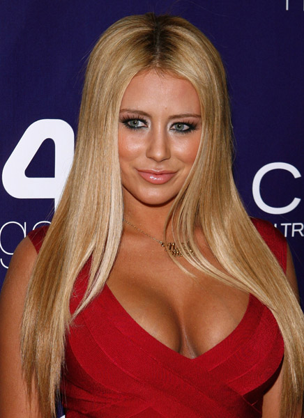 Aubrey O'Day milkshake launch benefiting American Red Cross and earthquake victims in Haiti and Chile