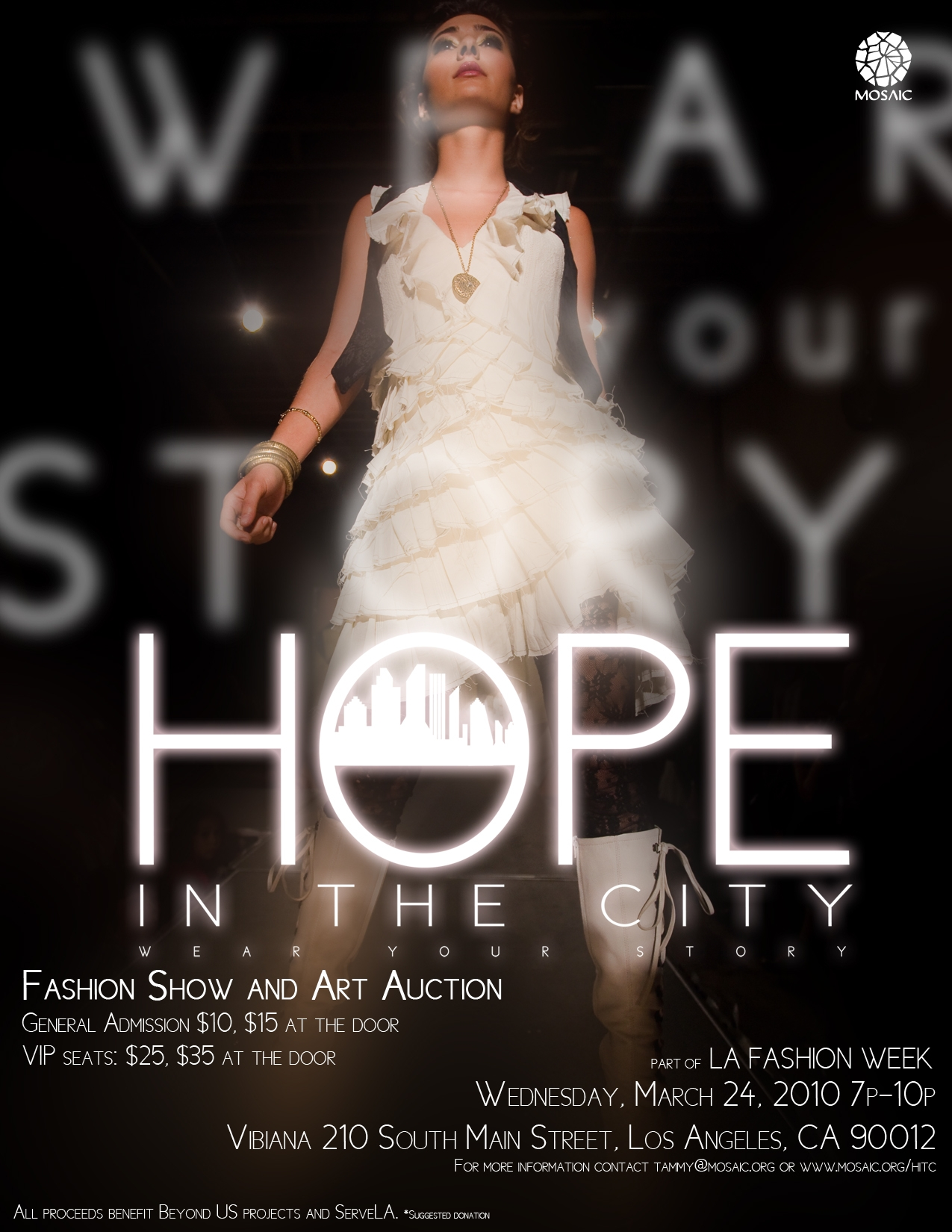 LA Fashion Week: Hope in the City fashion show and art auction for charity