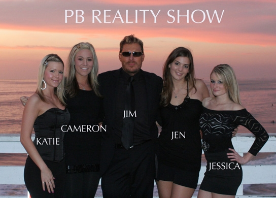 Jim Lawlor's PB reality TV show cast swarmed by paparazzi in Pacific Beach