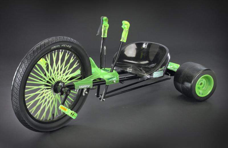 Huffy brings back the Green Machine and it's a hit again worldwide