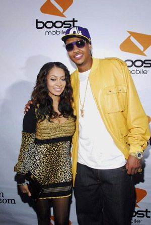VH1 walks La La Vazquez down the aisle to Carmelo Anthony in a new 5-part series airing Sep 2010