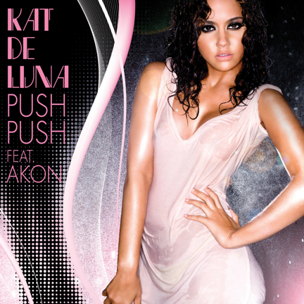 Kat DeLuna's PUSH PUSH feat. Akon music video premieres today!