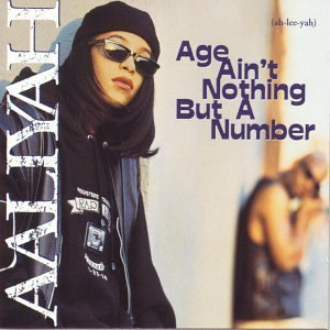 aaliyah age aint nothing but a number cd cover