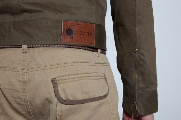 Spring 2011 Collection: DSO-1025 - Motorcycle Jacket Back Details