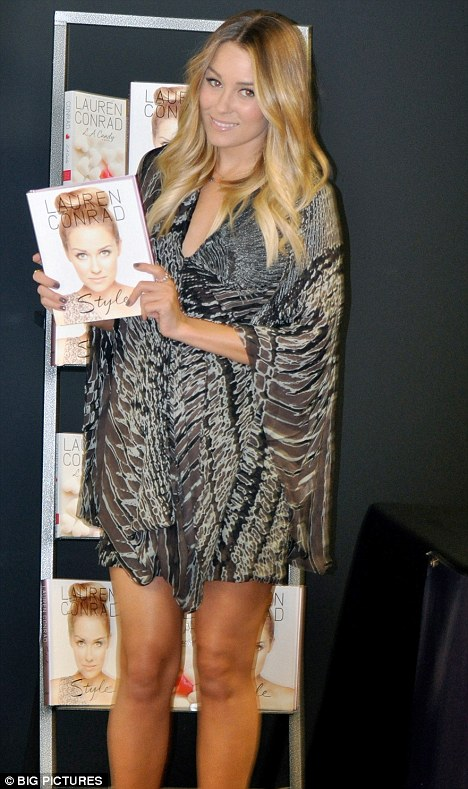 lauren conrad style book pictures. who got Lauren Conrad to
