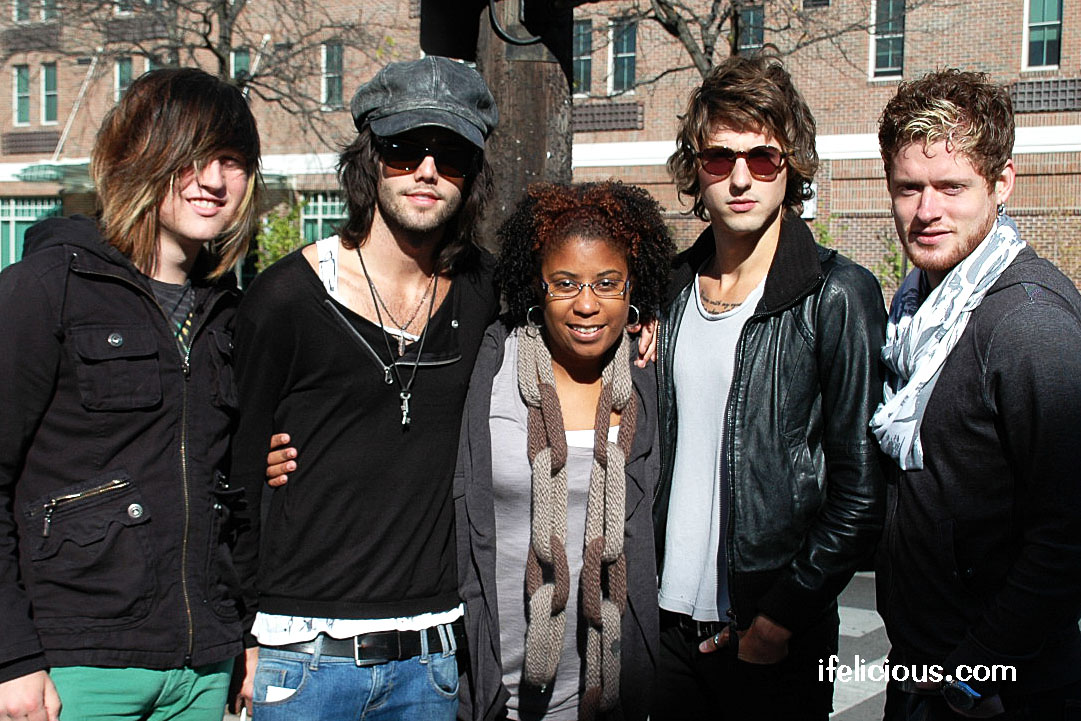 Hot Chelle Rae tours through Columbus, OH