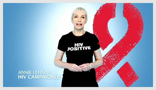 The Body Shop, UNAIDS, Annie Lennox ask you to be an activist, join the fight against HIV