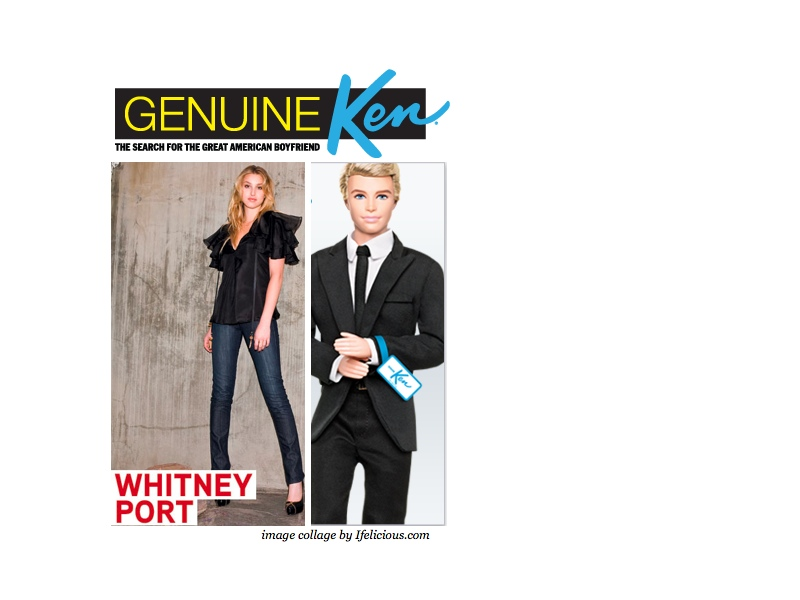 "Whitney Port hosting dating show ""Genuine Ken: The Search for the Great American Boyfriend"""