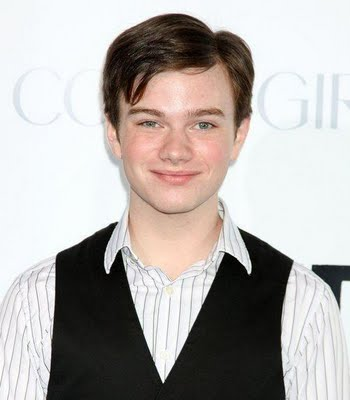 "PopEater reports GLEE star Chris Colfer wrote and will star in film ""Struck by Lightning"""