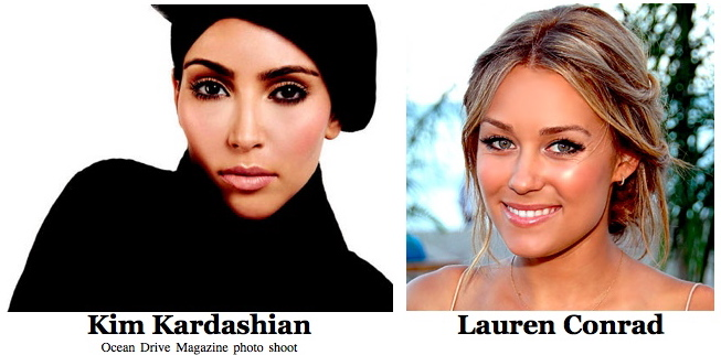 Kim Kardashian and Lauren Conrad are top earning reality TV stars for 2010