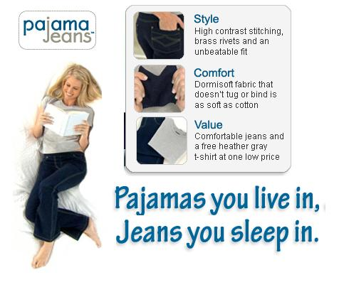 The most brilliant dumb idea: Pajama Jeans