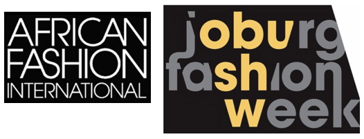 African Fashion International and Joburg Fashion Week 2011 logos