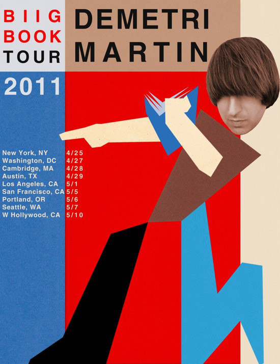 "Comedian Demetri Martin releases book ""This is a Book,"" tour dates"
