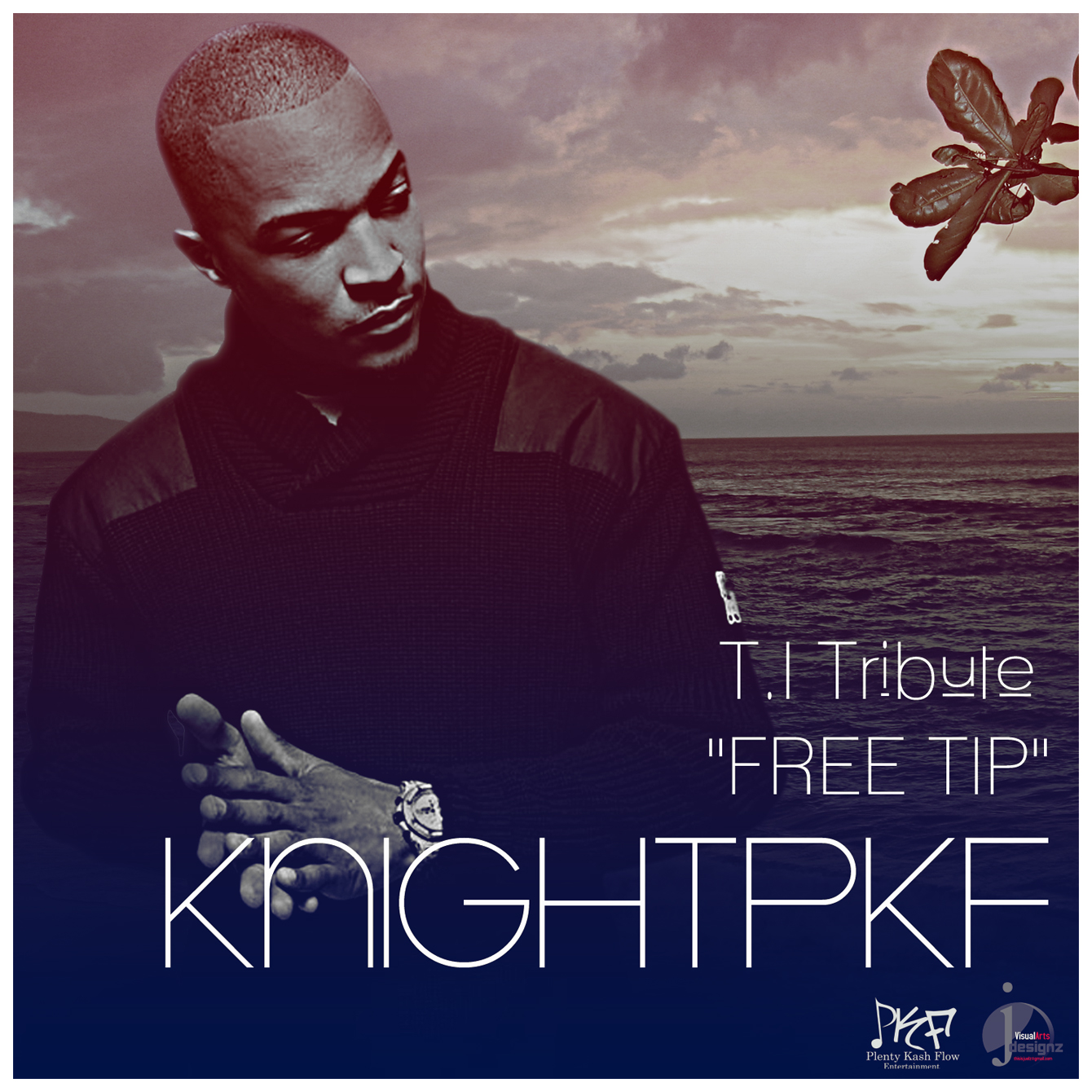 "Ice-T's protege KnightPKF does tribute song to incarcerated T.I. ""Get Back Up"" (video)"