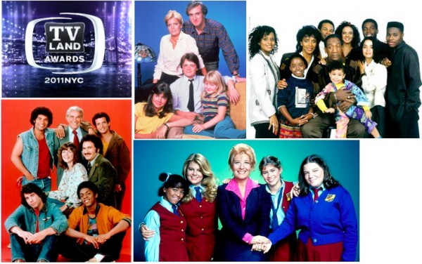 The cast of the facts of life among those honored at tv for Tv land tv shows