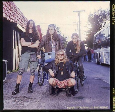 Alice In Chains band photo