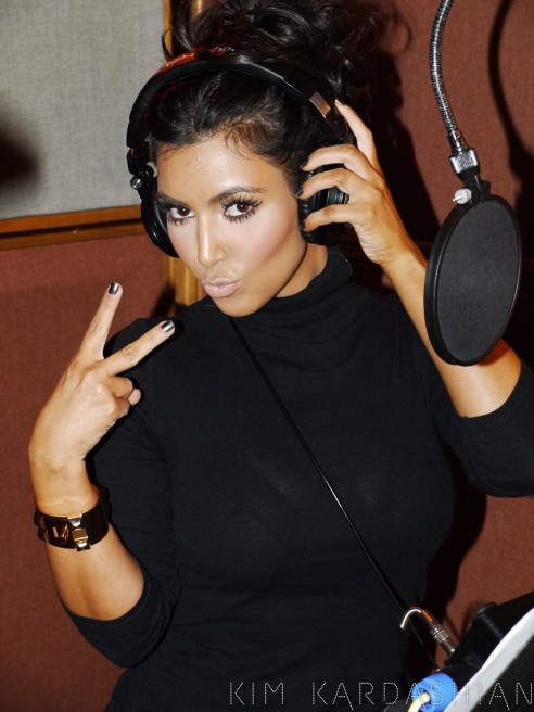 "Kim Kardashian featuring The Dream ""Jam (Turn It Up)"" debuts on Ryan Seacrest"
