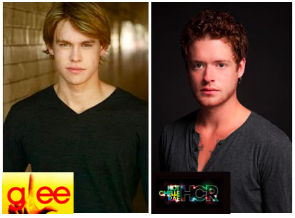 "A Glee mashup of sorts brings brothers Chord and Nash Overstreet together for Hot Chelle Rae video ""Tonight Tonight"""