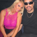 Coco and Ice T at Santos Party House in NYC