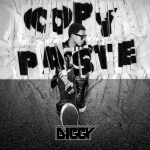 Diggy Simmons graphic for Copy Paste song