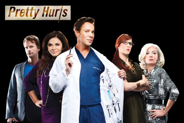 "Logo TV reminds us that in Hollywood ""Pretty Hurts"" with its new reality series"