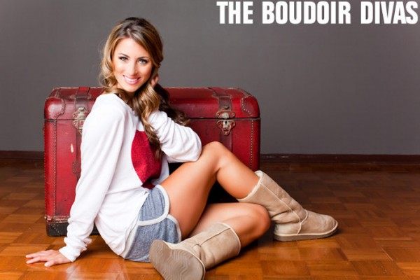 Whooga ugg boots on reality star Tenley Molzahn
